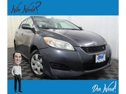 Magnetic Gray Metallic Toyota Matrix S AWD.  Click to enlarge.