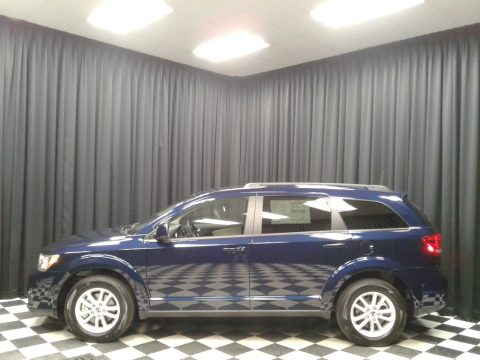 Contusion Blue Pearl Dodge Journey SXT.  Click to enlarge.