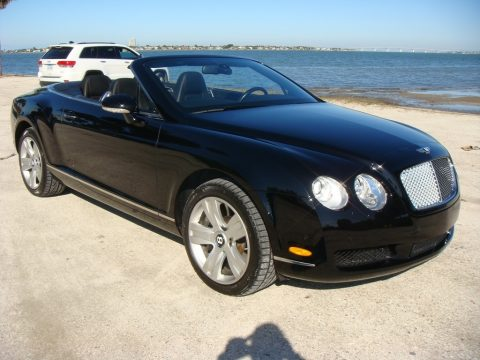 Diamond Black Bentley Continental GTC .  Click to enlarge.