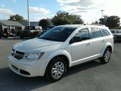 White Noise Tri-Coat Dodge Journey SE.  Click to enlarge.