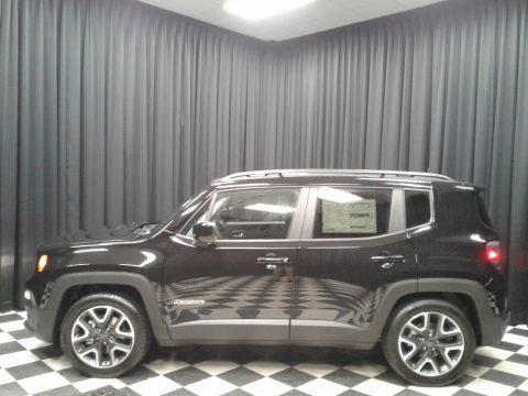 Black Jeep Renegade Latitude.  Click to enlarge.