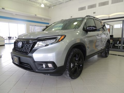 Obsidian Blue Pearl Honda Passport Elite AWD.  Click to enlarge.