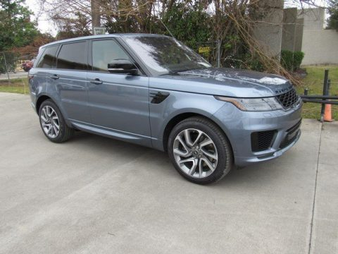 Byron Blue Metallic Land Rover Range Rover Sport HSE Dynamic.  Click to enlarge.