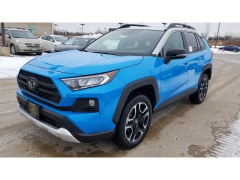 Blue Flame Toyota RAV4 Adventure AWD.  Click to enlarge.