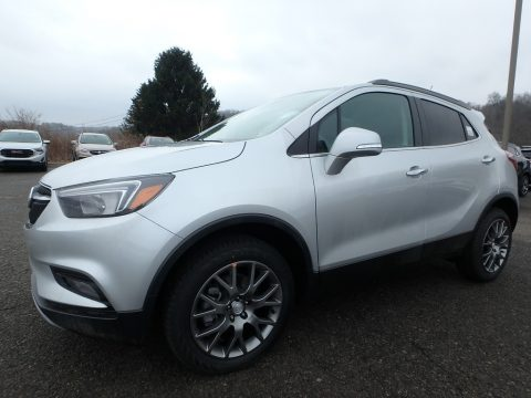 Quicksilver Metallic Buick Encore Sport Touring AWD.  Click to enlarge.