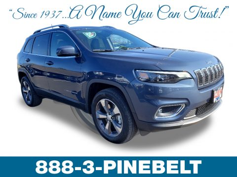 Blue Shade Pearl Jeep Cherokee Limited 4x4.  Click to enlarge.