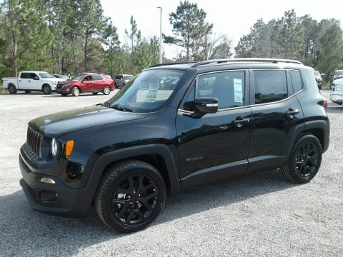 Black Jeep Renegade Altitude.  Click to enlarge.