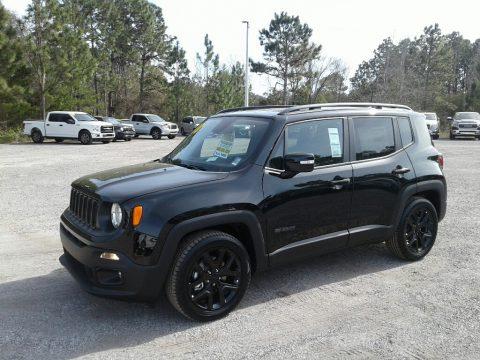 Black Jeep Renegade Altitude.  Click to enlarge.