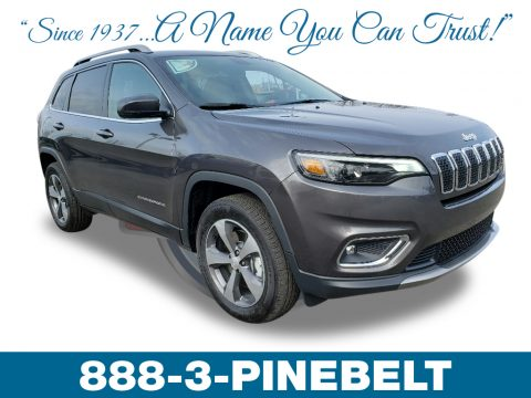 Granite Crystal Metallic Jeep Cherokee Limited 4x4.  Click to enlarge.