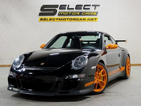 Black/Orange Porsche 911 GT3 RS.  Click to enlarge.