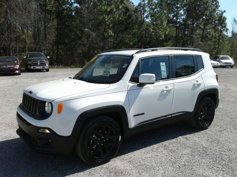 Alpine White Jeep Renegade Altitude.  Click to enlarge.
