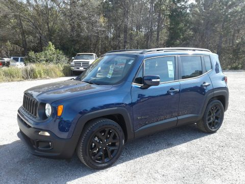 Jetset Blue Jeep Renegade Altitude.  Click to enlarge.