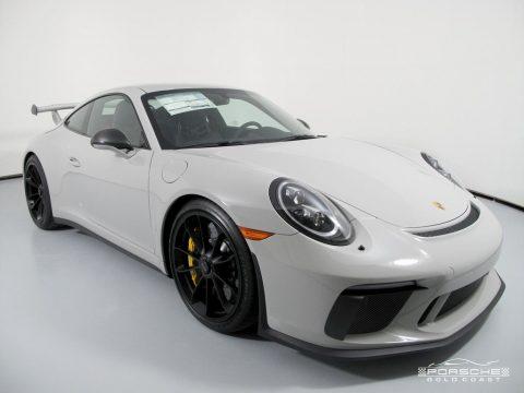 White Porsche 911 GT3.  Click to enlarge.