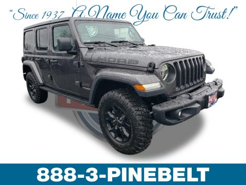 Granite Crystal Metallic Jeep Wrangler Unlimited MOAB 4x4.  Click to enlarge.