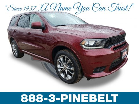 Octane Red Pearl Dodge Durango GT AWD.  Click to enlarge.