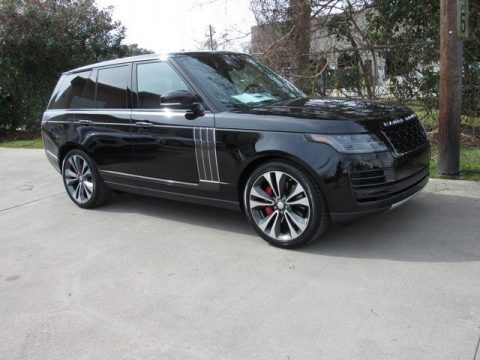 Santorini Black Metallic Land Rover Range Rover SVAutobiography Dynamic.  Click to enlarge.
