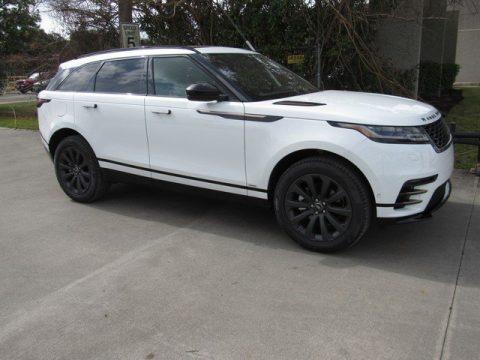 Fuji White Land Rover Range Rover Velar R-Dynamic SE.  Click to enlarge.