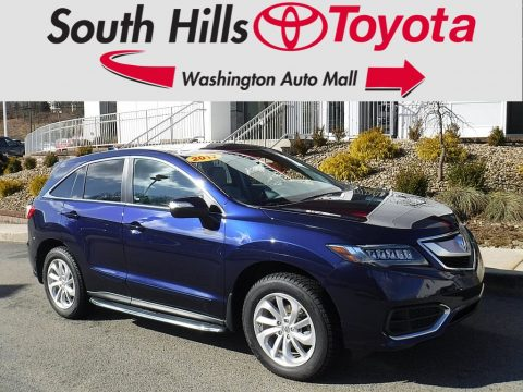 Fathom Blue Pearl Acura RDX Technology AWD.  Click to enlarge.