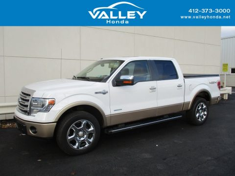 Oxford White Ford F150 King Ranch SuperCrew 4x4.  Click to enlarge.