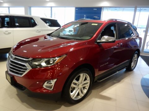 Cajun Red Tintcoat Chevrolet Equinox Premier AWD.  Click to enlarge.