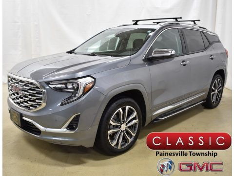 Satin Steel Metallic GMC Terrain Denali AWD.  Click to enlarge.