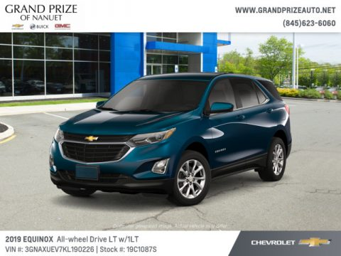 Pacific Blue Metallic Chevrolet Equinox LT AWD.  Click to enlarge.