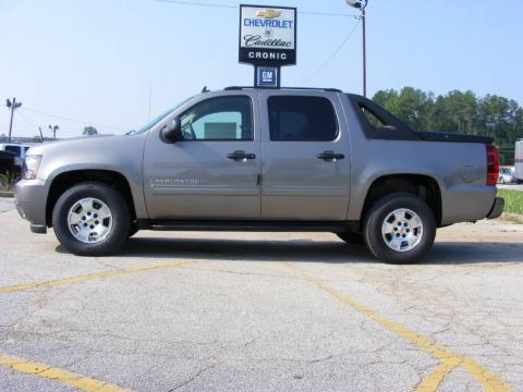 Graystone Metallic Chevrolet Avalanche LS.  Click to enlarge.