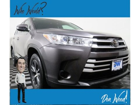 Predawn Gray Mica Toyota Highlander LE AWD.  Click to enlarge.