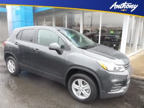 Nightfall Gray Metallic Chevrolet Trax LS AWD.  Click to enlarge.