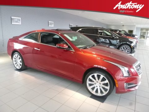 Red Obsession Tintcoat Cadillac ATS Premium Luxury AWD.  Click to enlarge.