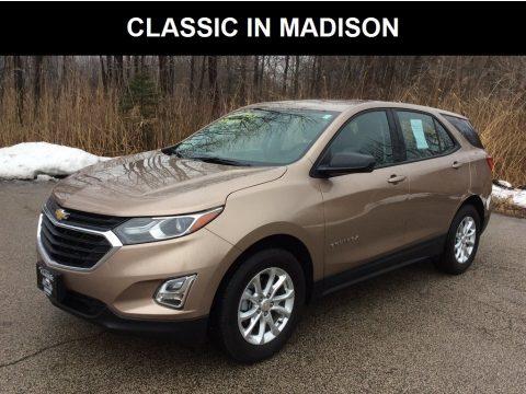 Sandy Ridge Metallic Chevrolet Equinox LS.  Click to enlarge.