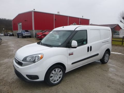 Bright White Ram ProMaster City Tradesman SLT Cargo Van.  Click to enlarge.