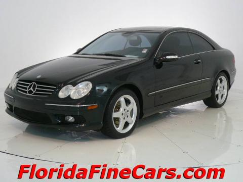 Used 2003 Mercedes Benz Clk 500 Coupe For Sale Stock
