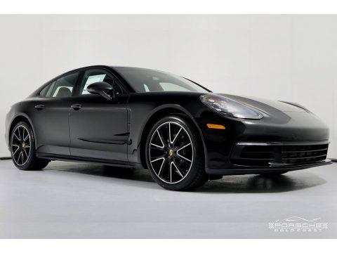 Black Porsche Panamera 4.  Click to enlarge.