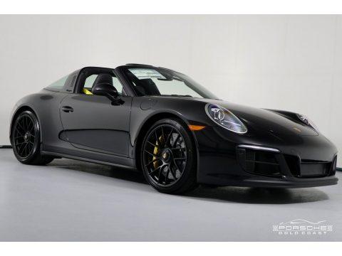 Black Porsche 911 Targa 4 GTS.  Click to enlarge.