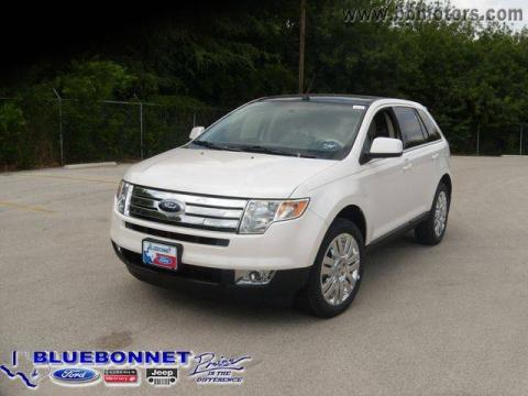 New 2009 ford edge limited awd for sale stock hba92366 for Bluebonnet motors new braunfels tx