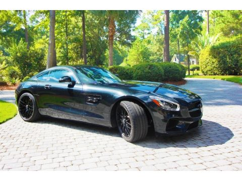 Magnetite Black Metallic Mercedes-Benz AMG GT Coupe.  Click to enlarge.
