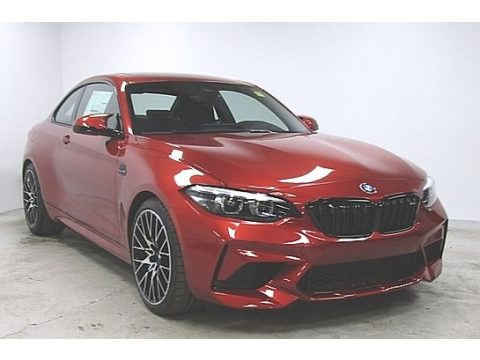 Sunset Orange Metallic BMW M2 Competition Coupe.  Click to enlarge.