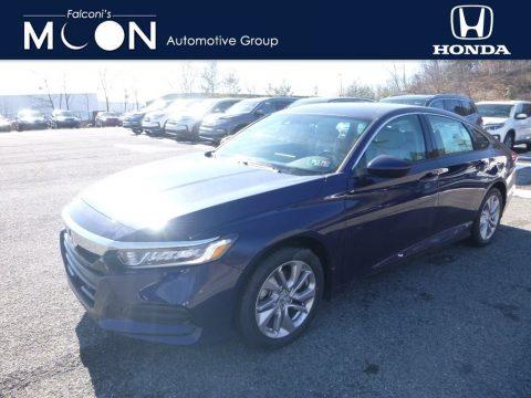 Obsidian Blue Pearl Honda Accord LX Sedan.  Click to enlarge.