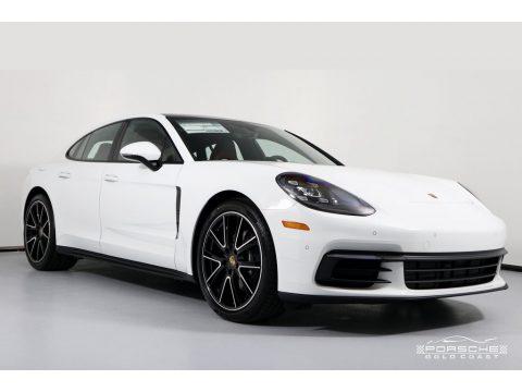 White Porsche Panamera 4.  Click to enlarge.