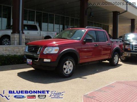 New 2009 ford explorer sport trac xlt for sale stock for Bluebonnet motors new braunfels tx