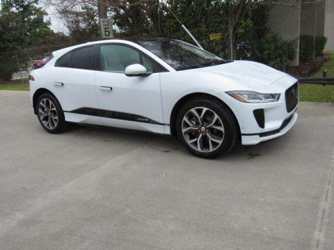 Yulong White Metallic Jaguar I-PACE HSE AWD.  Click to enlarge.