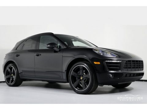 Black Porsche Macan Sport Edition.  Click to enlarge.
