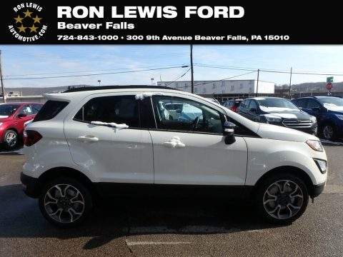 Diamond White Ford EcoSport SES 4WD.  Click to enlarge.