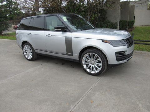Indus Silver Metallic Land Rover Range Rover Autobiography.  Click to enlarge.