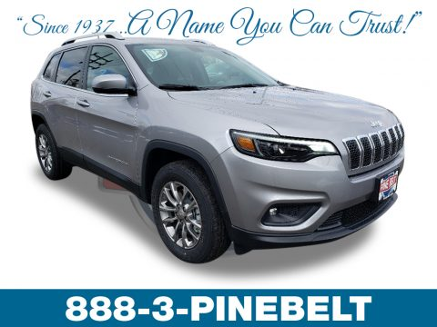 Billet Silver Metallic Jeep Cherokee Latitude Plus 4x4.  Click to enlarge.