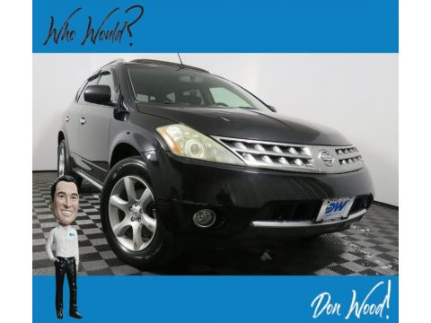 Super Black Nissan Murano SE AWD.  Click to enlarge.
