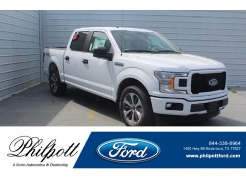 Oxford White Ford F150 STX SuperCrew.  Click to enlarge.