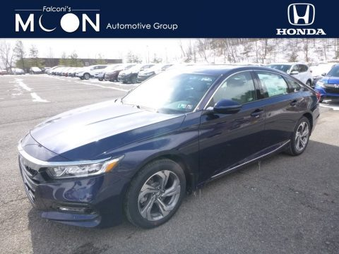 Obsidian Blue Pearl Honda Accord EX-L Sedan.  Click to enlarge.