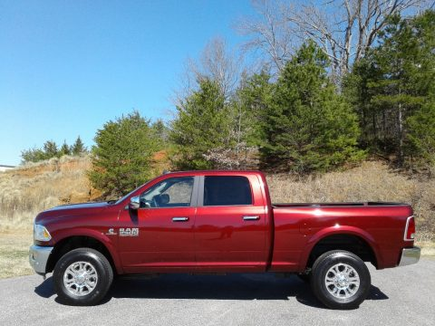 Delmonico Red Pearl Ram 2500 Laramie Crew Cab 4x4.  Click to enlarge.
